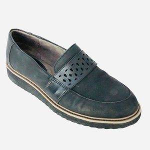 SOFFT vegan leather slip on shoes padded insole